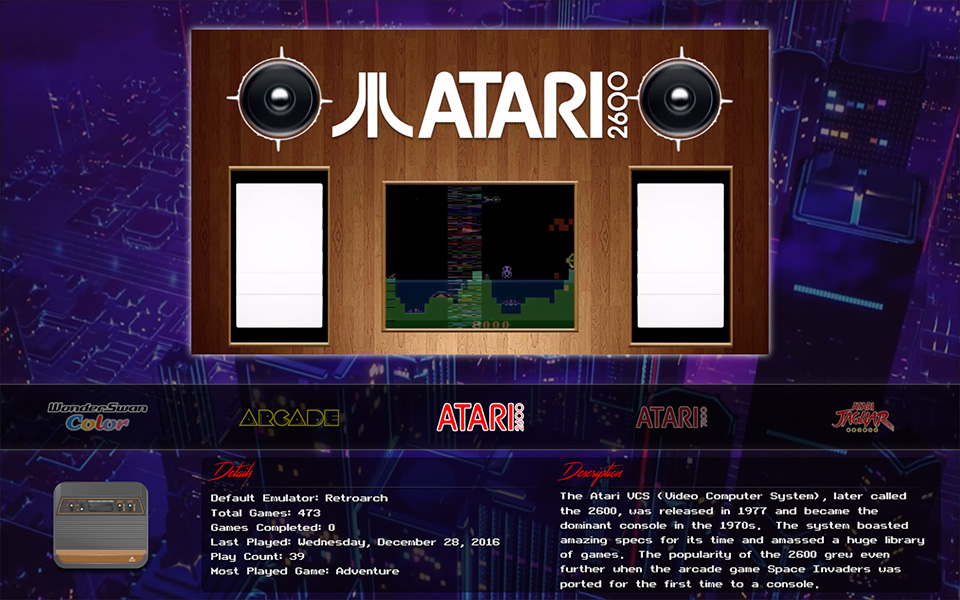 LaunchBox Big Box - Atari 2600