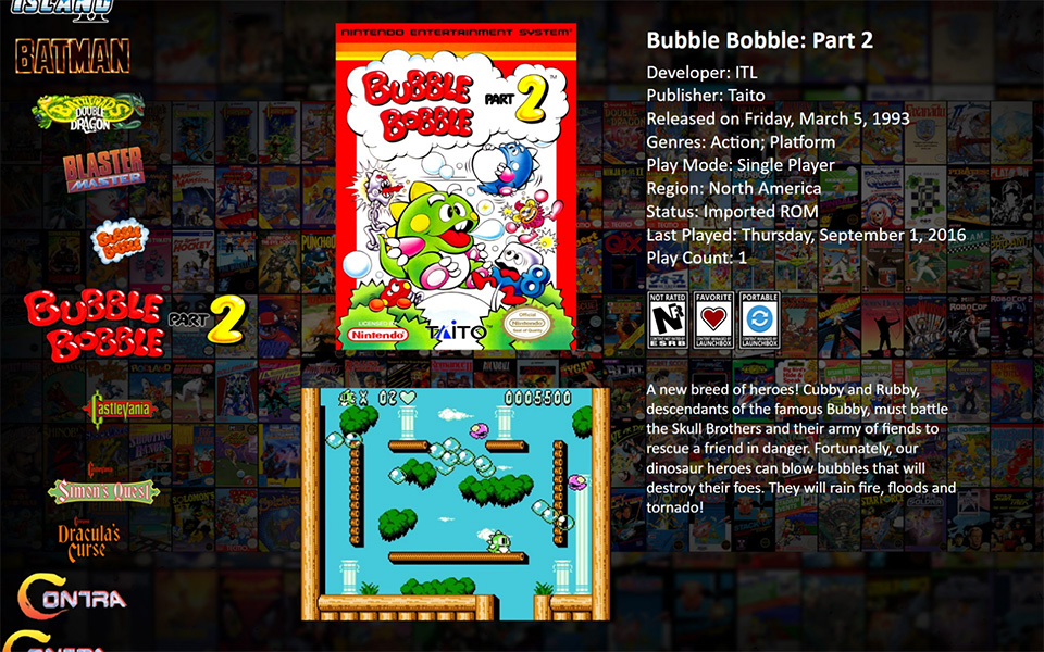 LaunchBox Big Box - Bubble Bobble Part 2