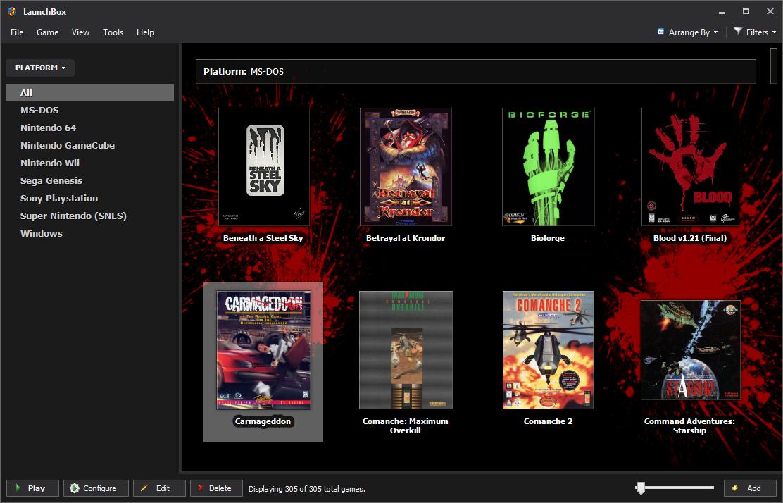 Launchbox Screenshots